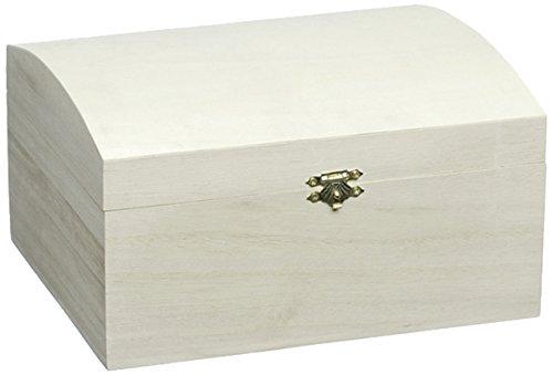 Knorr Prandell 218735732 Knorr prandell 218735732 Truhe 19,5 x 12,5 x 10 cm , mit gewölbtem Klappdeckel und Verschluss