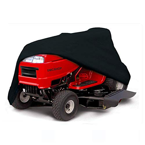 STARTWO Lawn Mower Cover, Heavy Duty Waterproof Universal Fit Mower Cover, UV Protection Tractor Mower Cover, All Season/Weather Protection
