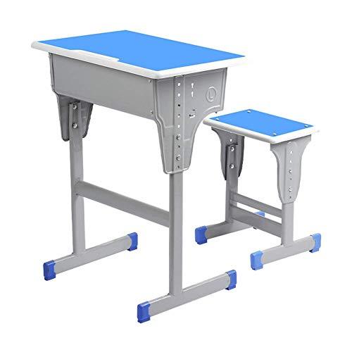 Equipamiento Mesa para niños Juegos de sillas Juego de Escritorio y Silla para niños Ajustable en Altura Ergonómico con cajón de Almacenamiento Ranura para bolígrafo para niñas y niños Natural