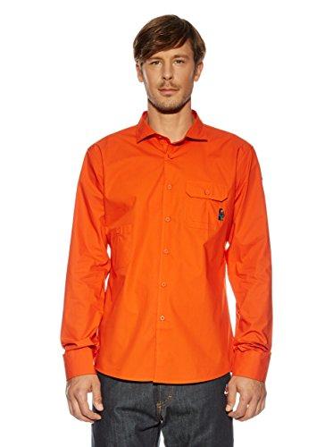 Maloja Hemd Arbustom orange M