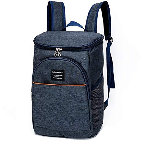 Sac isotherme Sac à dos sac à dos Paquet d'isolation épais Sac à lunch étanche Sac de pique-nique en plein air pour le voyage 26 * 19 * 36cm 3 couleurs (Couleur : C)