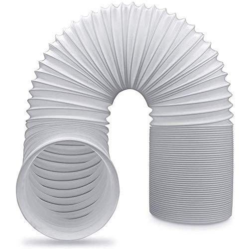 Manguera de Aire Acondicionado Portátil, Piezas de Repuesto de Tubo flexible de salida de aire de PV Escape de Aire Acondicionado Flexible Universal (13cm Diámetro, 2m Longitud)