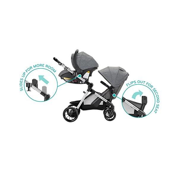 Convertible Baby Stroller Pivot Xpand, Modular Baby Stroller