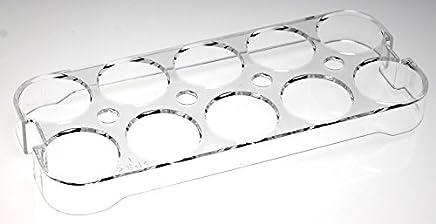 Preisvergleich für Universal-Eierhalter 2252 für Kühlschrank, Kühl-/Gefrierkombination, Einbaukühlschrank, Für bis zu 10 Eier, Maße (HxBxT): 2,5cm. x 23,5cm. x 9,5cm (Maße prüfen!)