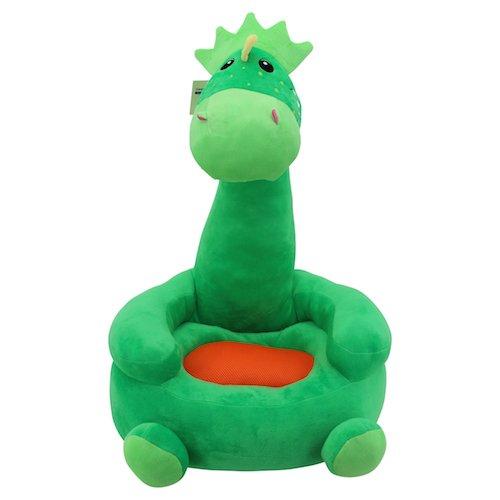 Sweety Toys 7127 Kinder Sitzkissen Sitzsack - Dinosaurier GRÜN