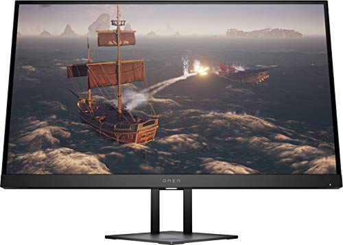 HP Omen 68,58cm 27Zoll Gaming Monitor IPS QHD Panel 2k 165Hz 1ms 350nits DisplayPort HDMI Black