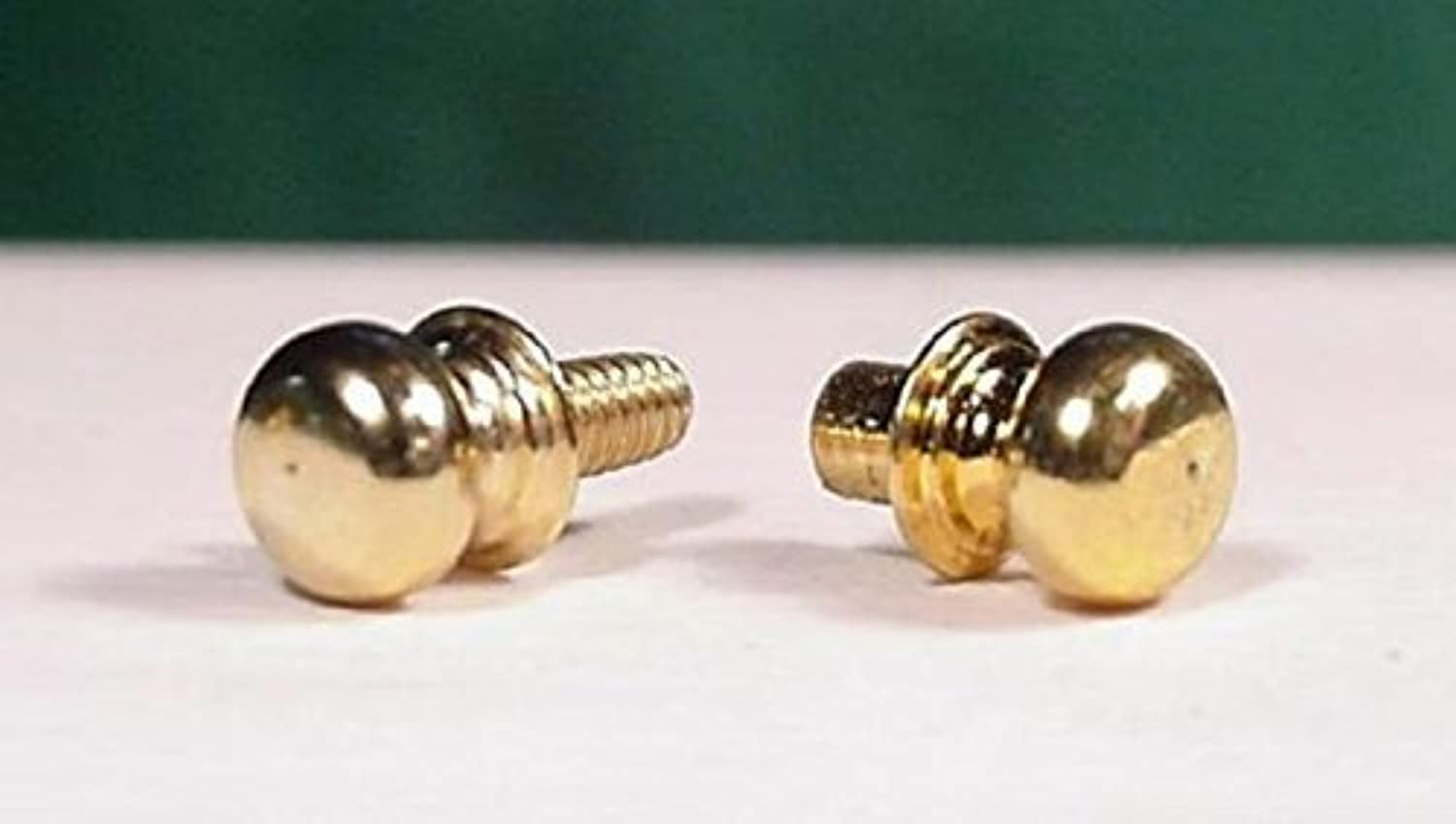 Dollhouse Miniature Door Knobs by ClareBell Brass by ClareBell Brass Works