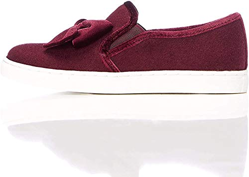 RED WAGON Zapatillas con Lazo Niñas, Rojo (Berry), 23 EU