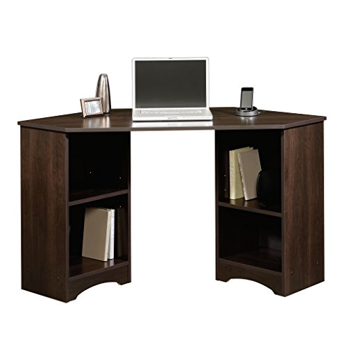 Sauder Beginnings Corner Desk, Cinnamon Cherry finish