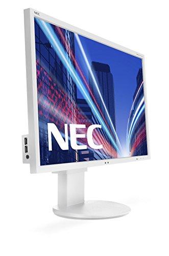 Preisvergleich Produktbild NEC 60003409 60, 9 cm (24 Zoll) LED-Monitor (DVI,  HDMI,  5ms Reaktionszeit) weiß
