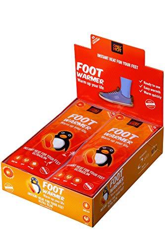 30 Paar OnlyHot / MyCoal Fußwärmer Sohlenwärmer ab Gr. 37 für über 5 Std. Wärme