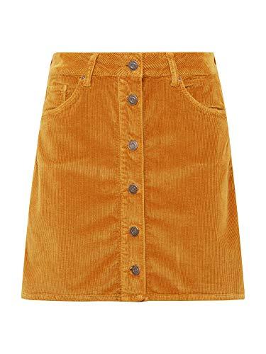 Mavi Damen Röcke Kurz Veronica Brown Sugar Cord XL