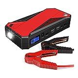 XINTONGSPP Starter de Salto de automóviles, Paquete de Refuerzo de batería de Emergencia de Emergencia de Salto de automóvil portátil de 16800 mh con Salidas de Carga Dual USB