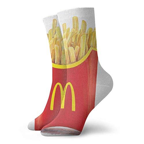 eneric McDonald's Polyester Adult Crew Socken