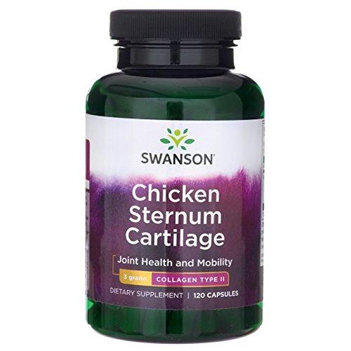 Swanson Chicken Sternum Cartilage Collagen Type Ii 500 Milligrams 120 Capsules
