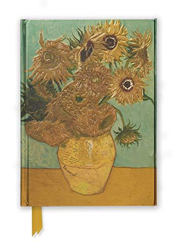 Premium Notizbuch DIN A5: Vincent van Gogh, Sonnenblumen: Unser hochwertiges, liniertes Blankbook mit festem, künstlerisch geprägtem Einband und ... DIN A 5 mit Magnetverschluss, Band 12)