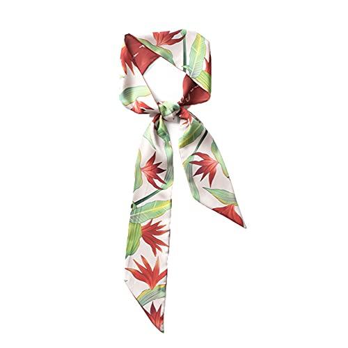 YUNLILI Bufandas para mujer, Fiesta, Decoración trabajo corbatas, cinturones, moda Pañuelo de cabeza, adecuado para todas las estaciones, regalo de Navidad para damas 125x7cm