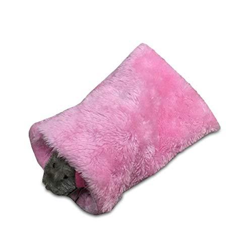 KOBWA - Hamaca para Mascotas, Hamaca cálida para Cama o casa, Accesorios para el Nido de la casa para Mini Animales pequeños, Rata, azucarero, Chinchilla, hámster, Gerbil