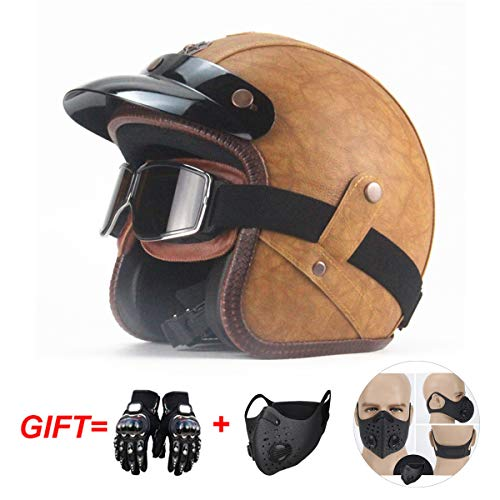 Incluye Bluetooth, m/áscara, Guantes Bluetooth LMJ-QXhat Casco de Motocicleta Modular Bluetooth Integrado Prueba de pinchazo con certificaci/ón Dot: Casco de Motocicleta 3//4 FM .