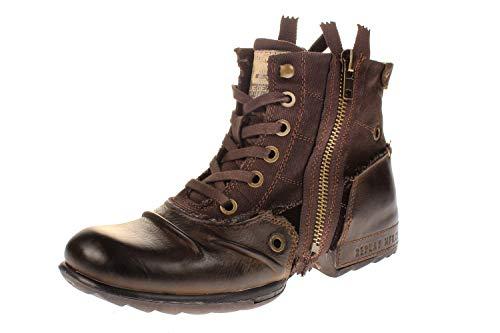 Replay Herren CLUTCH Biker Boots, Braun (DK BRN 18), 44