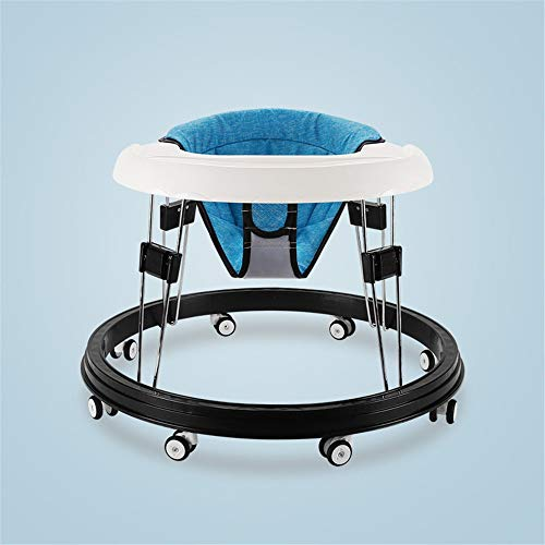 For Sale! HANXIAODONG Baby Push Walker Girl&Boy Walker Toy Infant Toddler Anti-Rollover Foldable Mul...