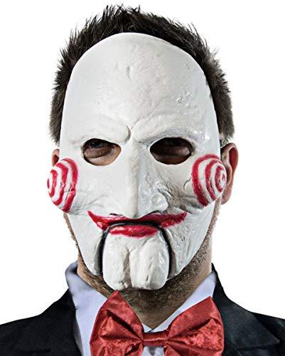Horror-Shop Saw Puppe Billy Maske Economy für Halloween