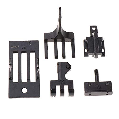 Hellery Juego de Calibre Universal para Máquina de Coser para Máquina Industrial de Doble - 17.5mm