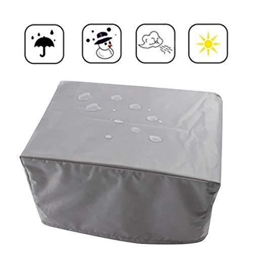 KEANCH Mobilio for l'esterno di Protezione Solare Copertura del Patio Copertura mobilia Impermeabile-Heavy Duty 600D Tessuto-Traspirante (Color : Gray, Size : 213×132X70CM)