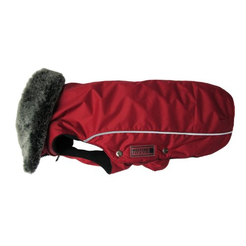 Wolters | Winterjacke Amundsen in Rot | Rückenlänge 40 cm