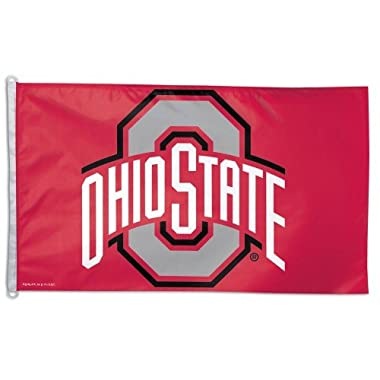 College Flags and Banners Co. Ohio State Flag OSU Buckeye Flag