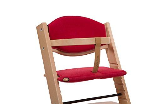 Treppy 1052 Kissen zum bequemen Sitzen, Cushion Softy, rot