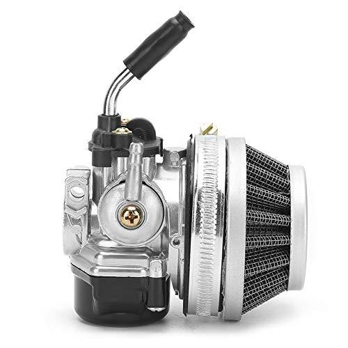 Vergaser mit Kraftstofffilter-Kit Ersatzteile, Vergaser Motorradzubehör für 47ccm 49ccm Pocket Mini Bike/ATV/MTA-1/MTA-2