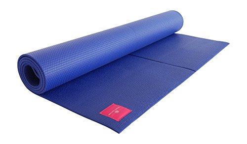 SHANTI NATION - Shanti Mat XXL - sehr große Yogamatte - extra breit und lang - 200 x 100 x 0,6 cm - komfortabel - auch für Pilates & Fitness - Midnight