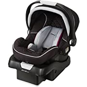 Rear-facing 4-35 pounds Side Impact Protection Carry Curve™ Handle for comfortable and easy carrying LATCH equipped with LATCH storage Comfortable infant insert gives smaller babies a snug fit Machine washable seat pad 5-point harness with up-front a...