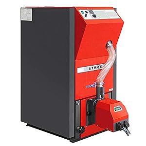 ATMOS - Caldera de pellets tipo PX15 y PX20 compacta, caldera pellets PX15-4-15 kW