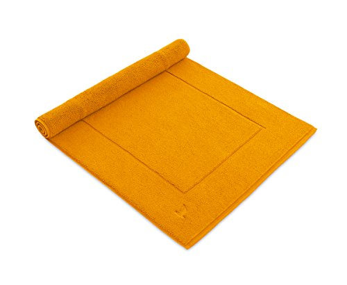 möve Superwuschel Badteppich 60 x 100 cm aus 100% Baumwolle, gold