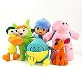 NAPANA Pocoyo Toys 6 -12 inch Pocoyo Pato Elly Nina Loula Sleepy Bird Stuffed Animals Soft Dolls Pocoyo Figure Anime Collection Toy