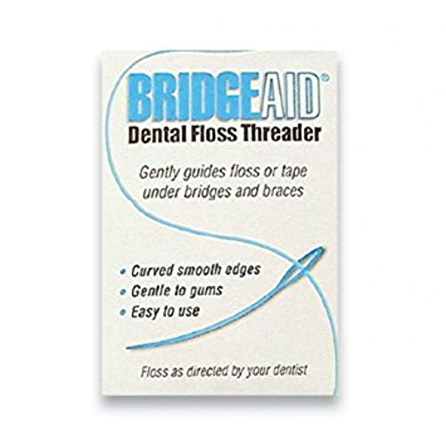 FLOSSAID BridgeAid Threaders 20 Packs of 10 (200 Threaders)