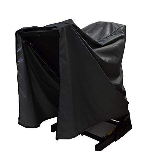 Funda impermeable para cinta de correr, cubierta de tela impermeable, cubierta elíptica, cubierta para máquina de correr, plegable, perfecto para uso en interiores y exteriores