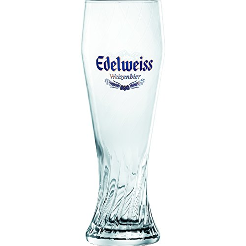 Edelweiss Bier Gläser 12 Stück mit jeweils 0,5 Liter
