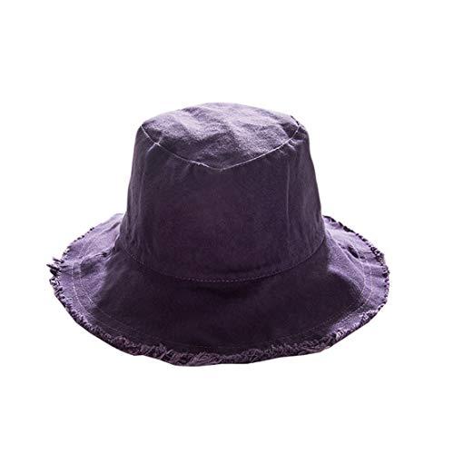 Feiboy Plegable ala Ancha Planas Cap Moda Verano Sombrero Transpirable Exteriores Hats...