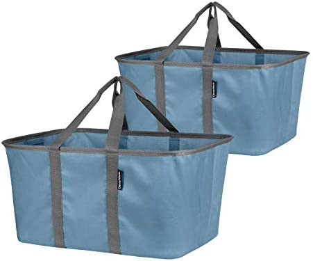 CleverMade Collapsible Fabric Laundry Baskets Foldable Pop Up Storage Container Organizer Bags product image