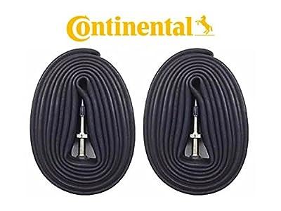 Continental New 2 Pack 26, 27.5, 29 Presta Valve MTB Bike Inner Tubes - Bulk (26x1.75-2.5)