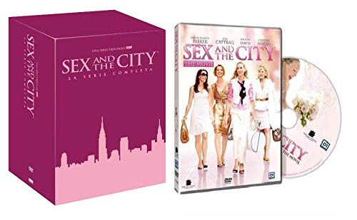 Sex and the City: Serie Completa Stagione 1-6 (18 DVD) + Sex And The City The Movie