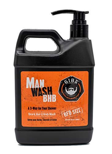 GIBS Grooming Man Wash BHB, 33.8 Fl Oz