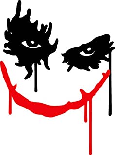 Nostalgia Decals Jokers Smile Large Wall or Window Decor Decal 24