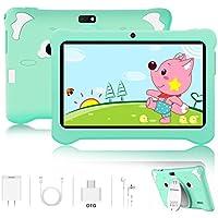 Tablet para Niños Android 9.0 Pie 3GB RAM y 32GB ROM 7 Pulgadas HD Pantalla Tableta Infantil WiFi Bluetooth Dual Camera 5+2MP Entertainment Education(Google Play)