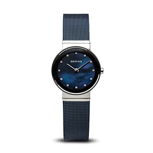 BERING Time | Women's Slim Watch 10126-307 | 26MM Case | Classic Collection | Stainless Steel Strap | Scratch-Resistant Sapphire Crystal | Minimalistic - Designed in Denmark