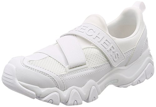 Tênis Skechers D'Lites 2 Fast Look Feminino, 36, Branco