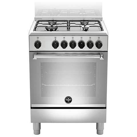 Bertazzoni La Germania Americana AMN664EXV cucina Piano cottura Acciaio inossidabile Gas A